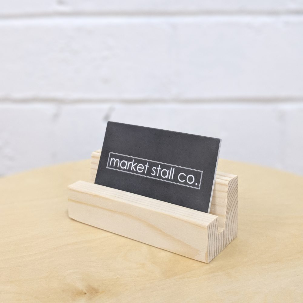 business card holder by market stall co