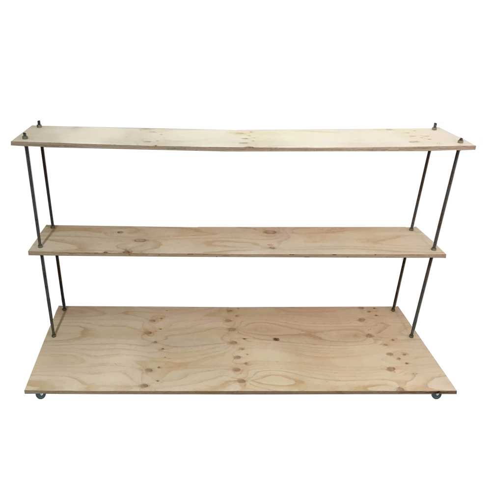 three tier floating stand