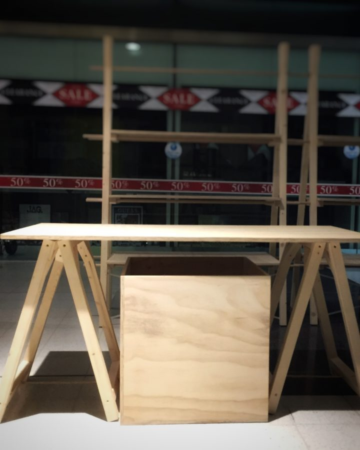 trestle table by market stall co