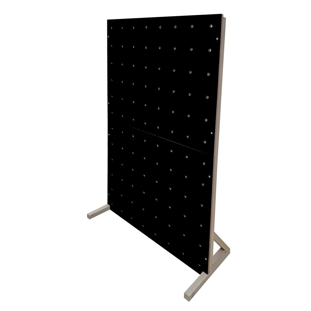 black pegboard colour freestanding peg boards peg boards