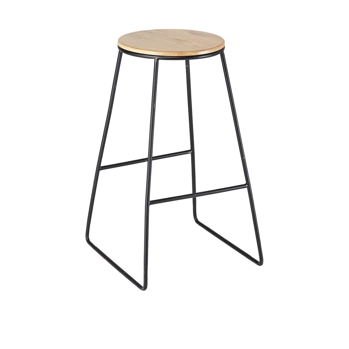 life store stool wux blck bar your design walnut black wal modern stools bs hend in or for interiors kitchen by online leather hendrix lea