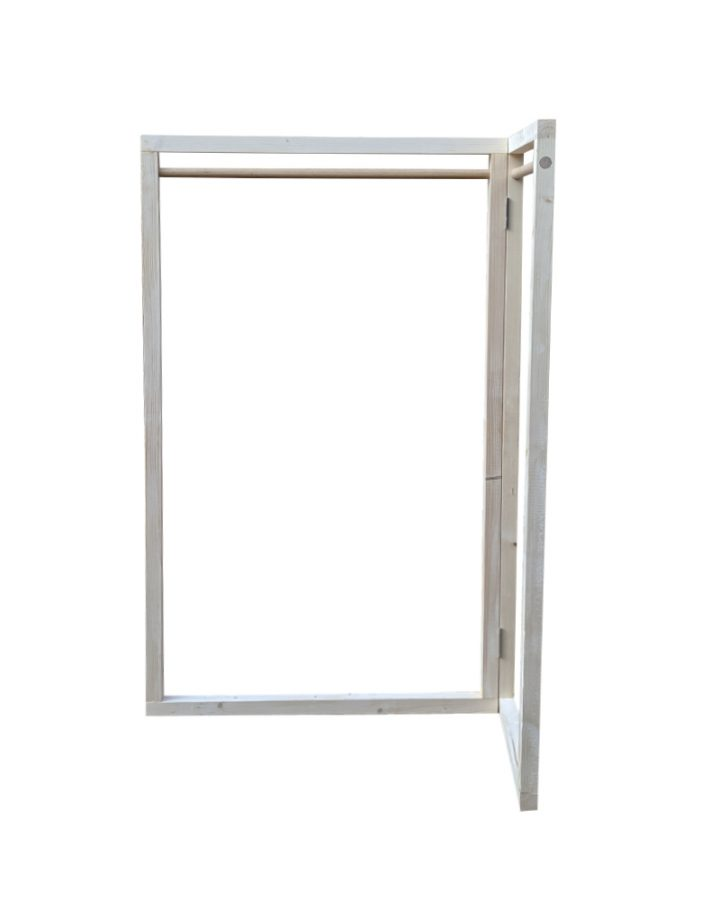 market stall co corner clothing rack