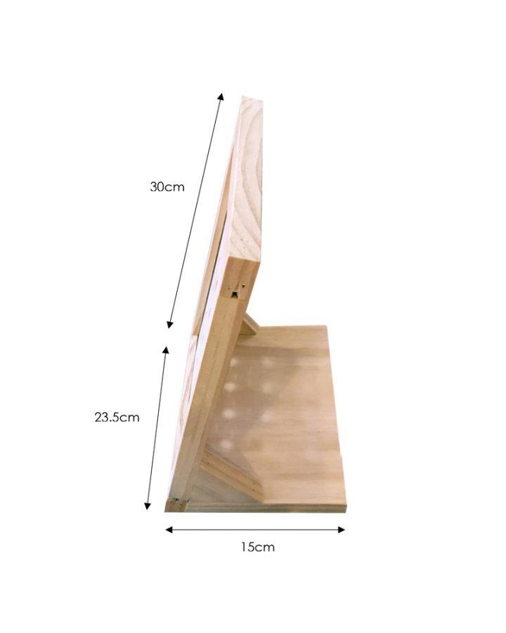 cufflink stand dimensions