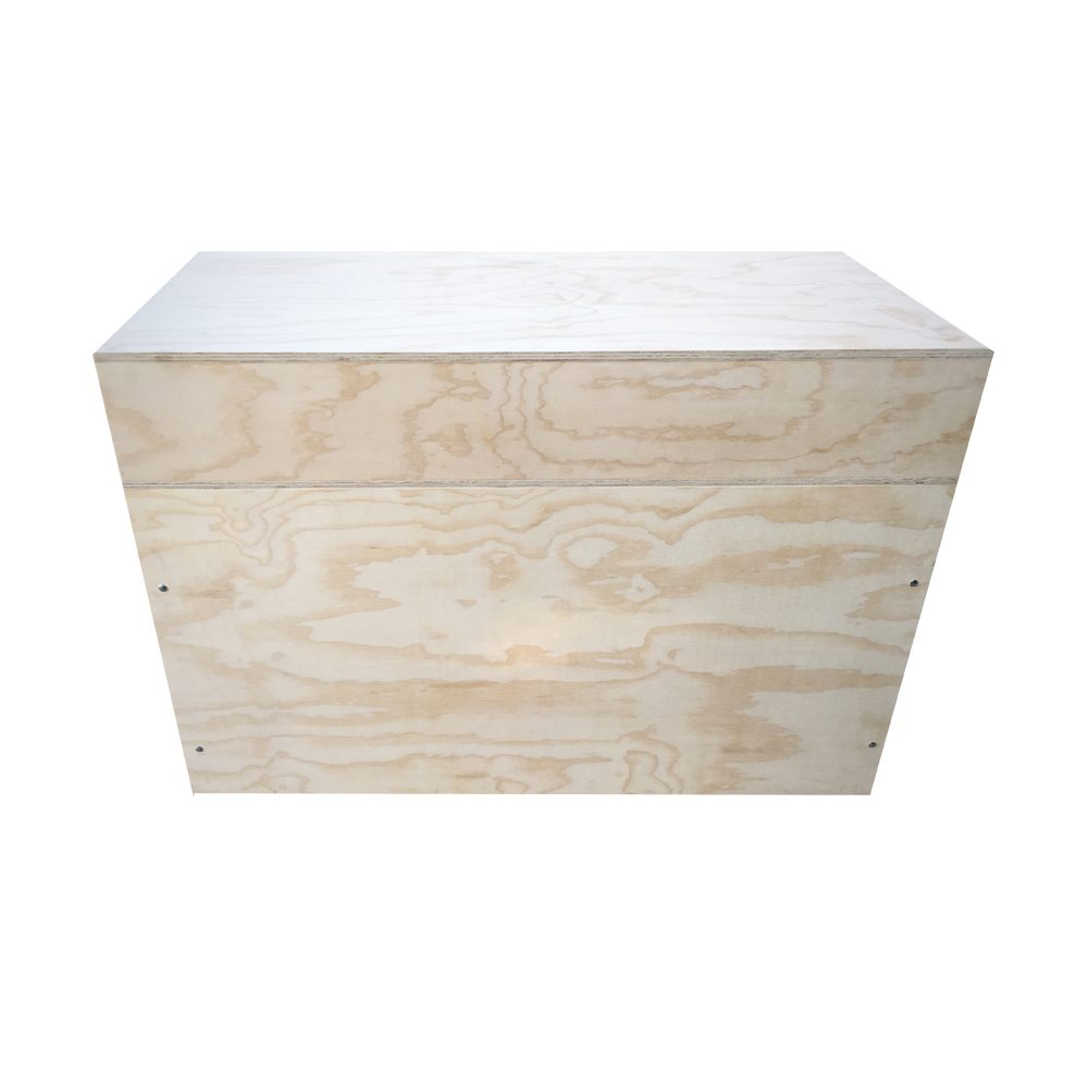 enclosed pos table front