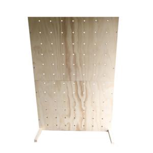 free standing peg board rental