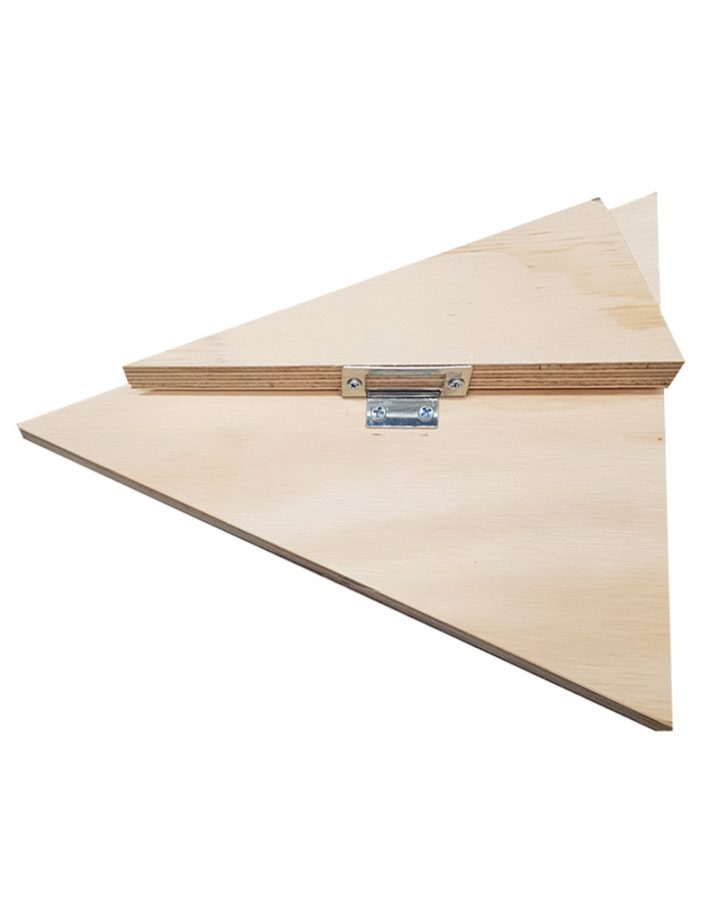 market stall co equilateral triangle stand hinge