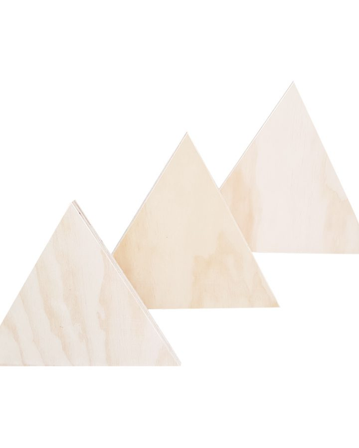 market stall co equilateral triangle stand trio