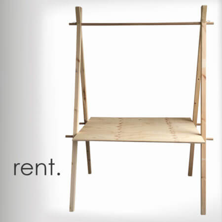 market stall co rent