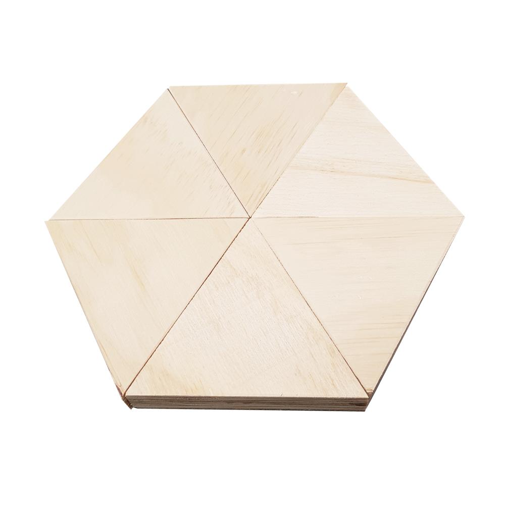 triangle display blocks hexagon