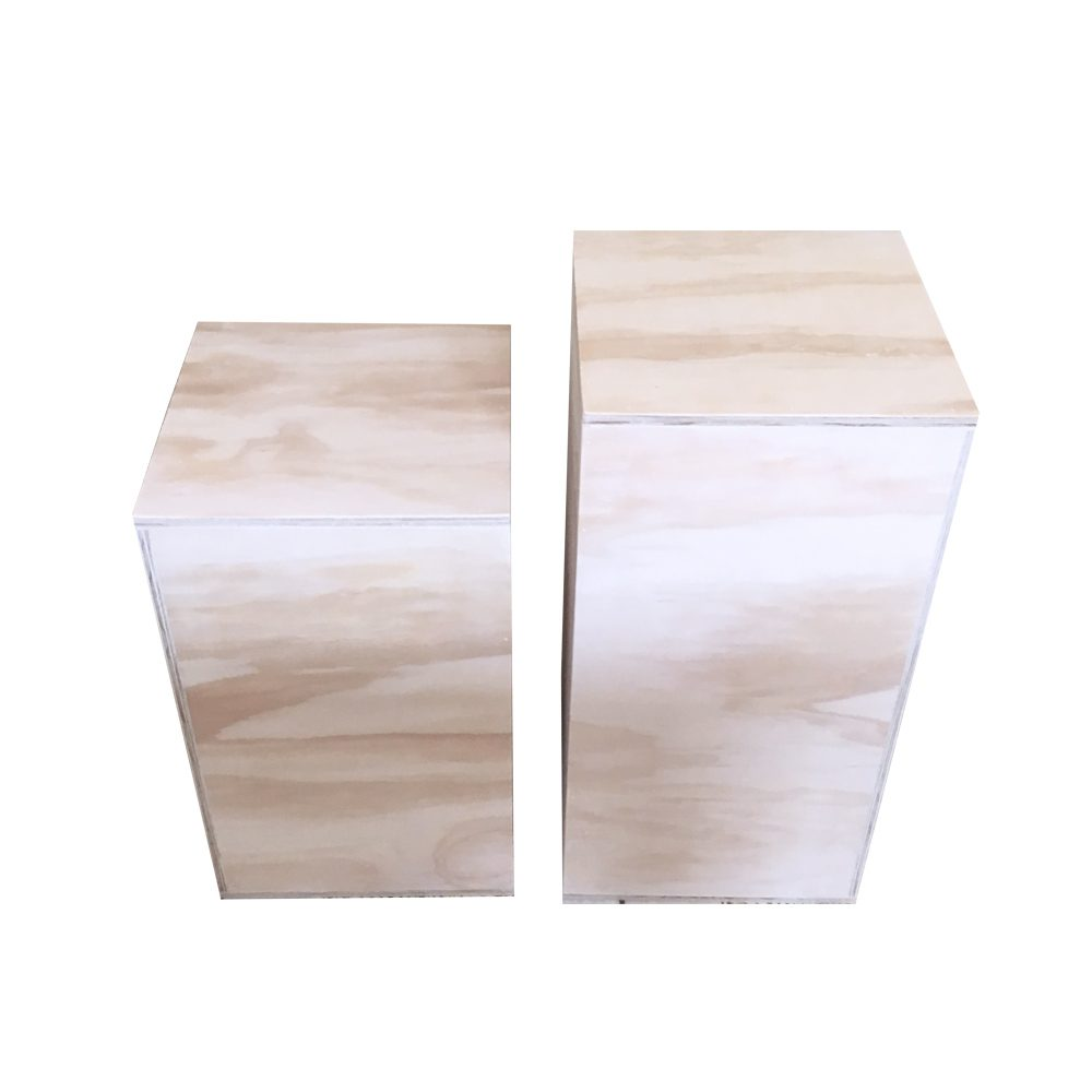 market stall co plinths ply boxes plywood boxes