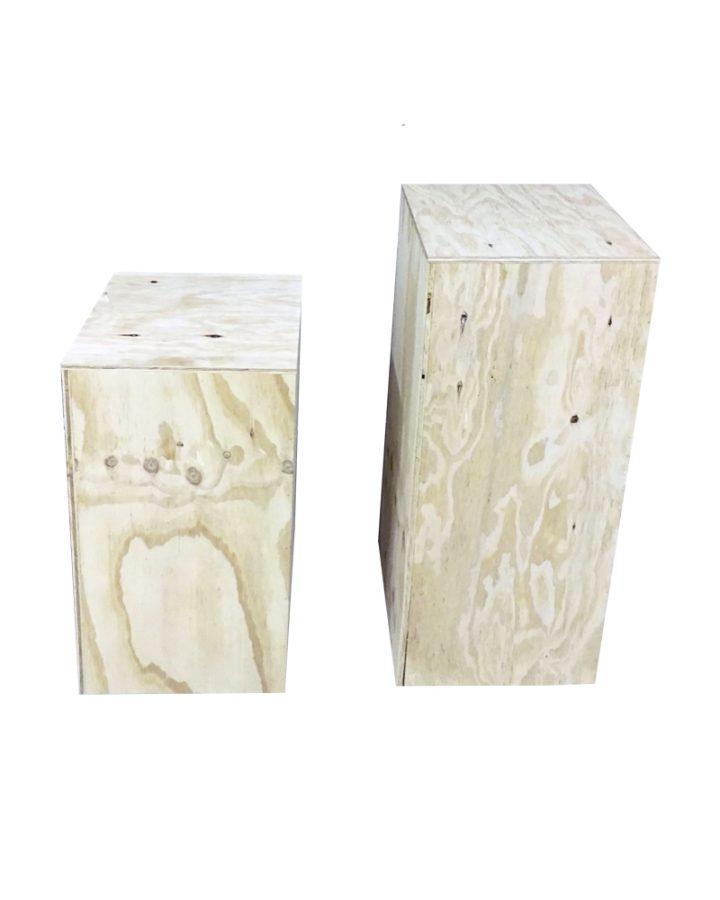 ply boxes plinths