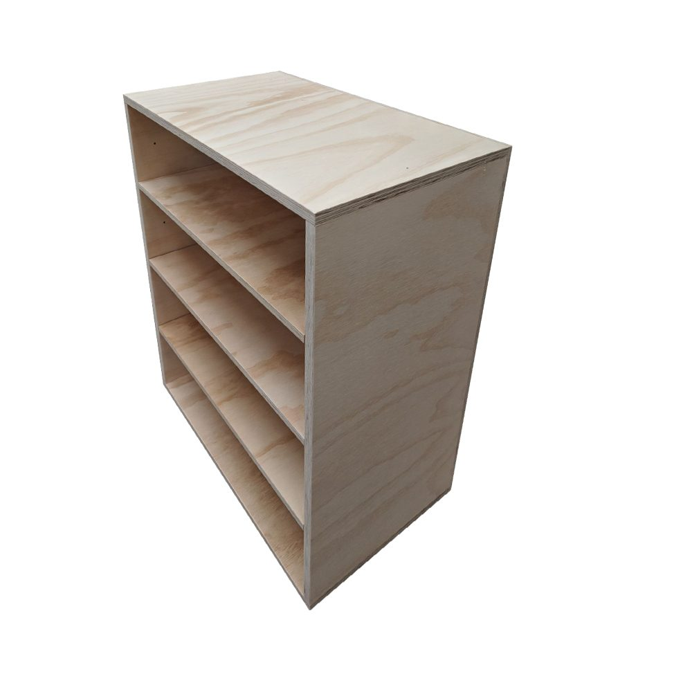 plywood box shelves