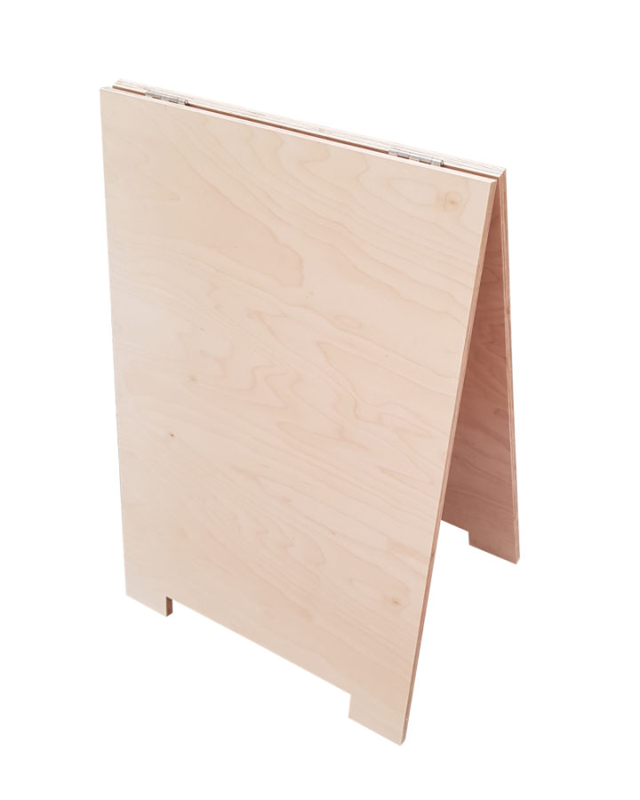 sandwich board aframe