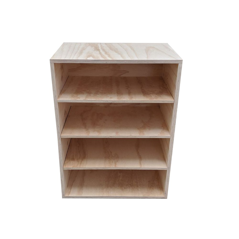box shelving unit