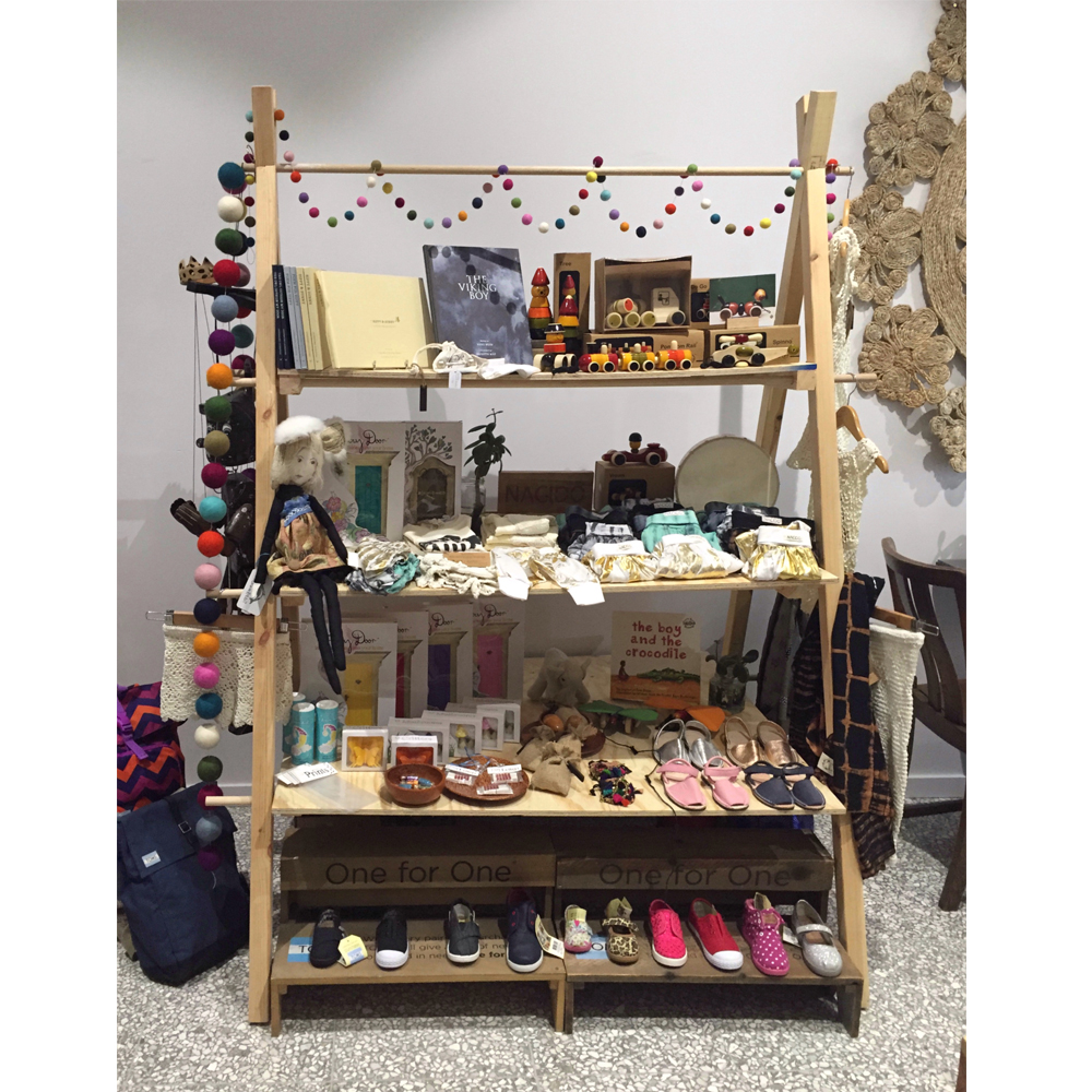 three tier a-frame market stall co