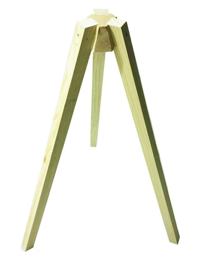 timber tripod market stall co