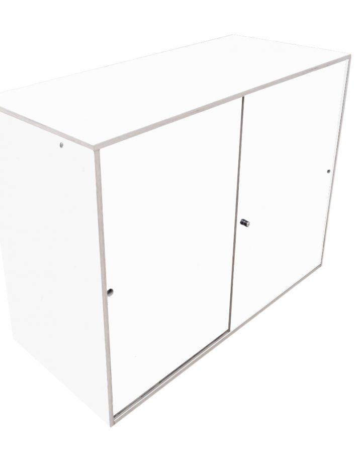 white-enclosed-counter